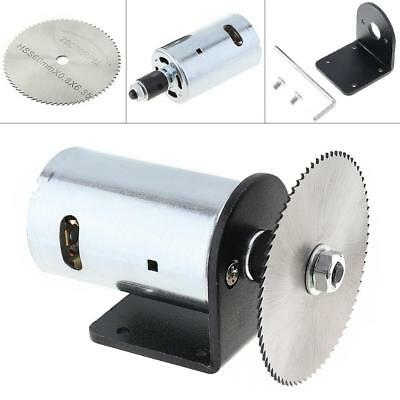 24V 555 Motor Table Saw Kit 60mm Saw Blade for Cutting Polishing Engraving