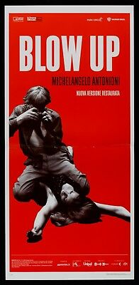 L109 Locandina Blow Up Michelangelo Antonioni Redgrave Hemmings Miles Cult Top
