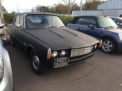 1971 K Rover P6 2000 TC. Very solid example.