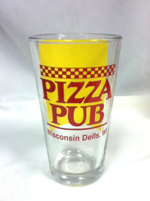 Miller beer glass bar glasses 1 Lite Pizza Pub Wisconsin Dells drink brewery FU5