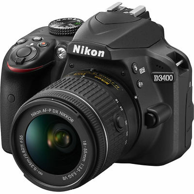 Brand New Nikon D3400 24.2 MP Digital SLR Camera with NIKKOR 18-55mm VR Lens