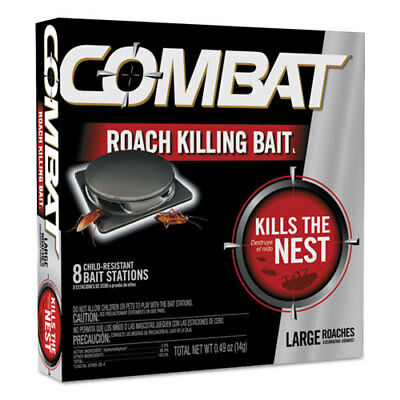 Source Kill Large Roach Killing System, Child-Resistant Disc, 8/PK, 12 PK/CT