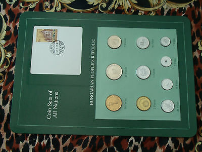 Coin Sets of All Nations Hungary w/card all 1984  UNC