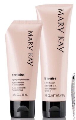 Mary Kay TimeWise 3 in 1 Cleanser & Age Fighting Moisturizer Set Anti Age