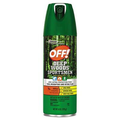 Deep Woods Sportsmen Insect Repellent, 6 oz Aerosol, 12/Carton