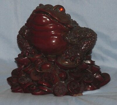 Solid Red Color Frog Free Shipping