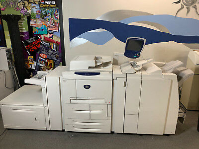 Xerox 4112 w/ finisher 112ppm (Booklets,Staple,2-3 Punch)