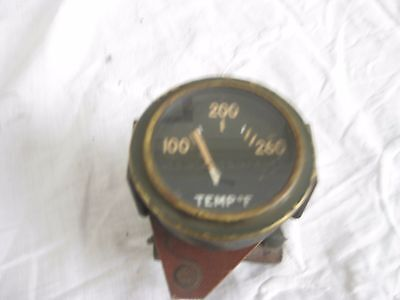 2 inch water Temp gauge US made 100 to 260 fahrenheit not jeep made by AC