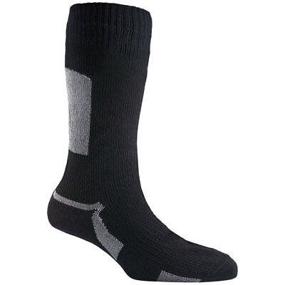 Sealskinz Waterproof Breathable Thin Mid Length Merino Wool Socks Made In Uk