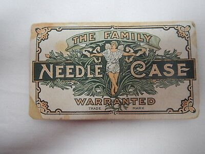 "Vintage Needle Case/Book ""The Family Needle Case"""
