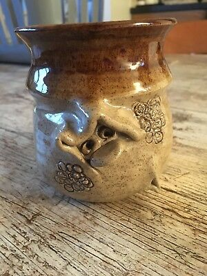 pretty ugly welsh pottery hand made