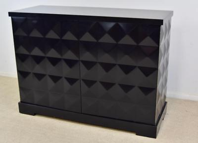 Baker Black Diamond Front Cabinet by Barbara Barry