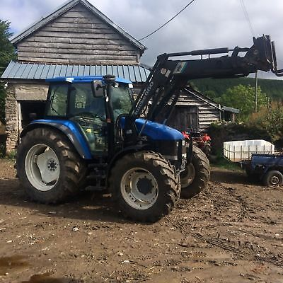 2001 New Holland TS 110 4x4 Tractor C/w Loader