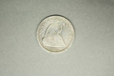 Seated Liberty Silver Dollar 1843 XF Condition.............11-13-15
