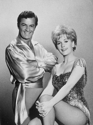 Stella Stevens  Leggy Cheesecake With Cornel Wilde   8X10 Photo 1