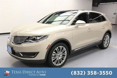 2017 Lincoln MKX Reserve Texas Direct Auto 2017 Reserve Used Turbo 2.7L V6 24V Automatic FWD SUV Moonroof