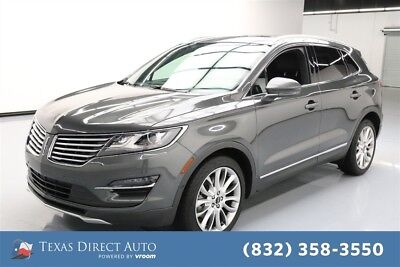 2017 Lincoln MKC Reserve Texas Direct Auto 2017 Reserve Used Turbo 2L I4 16V Automatic FWD SUV Premium