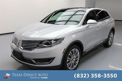 2018 Lincoln MKX Reserve Texas Direct Auto 2018 Reserve Used 3.7L V6 24V Automatic AWD SUV