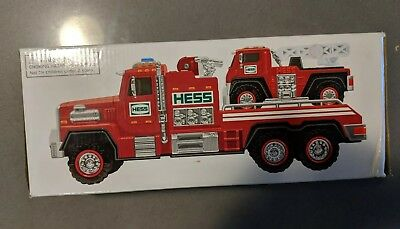2015 Hess  Fire Truck & Ladder Rescue , Brand New In Box