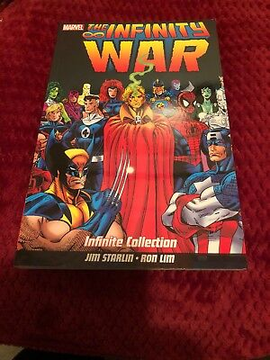Marvel The Infinity War Infinite Collection Graphic Novel Jim Starlin