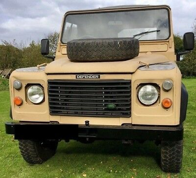 Military spec land rover 110