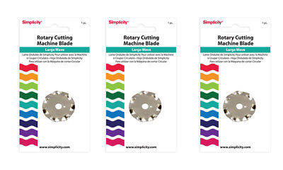 Simplicity Large Wave Rotary Cutting Blade