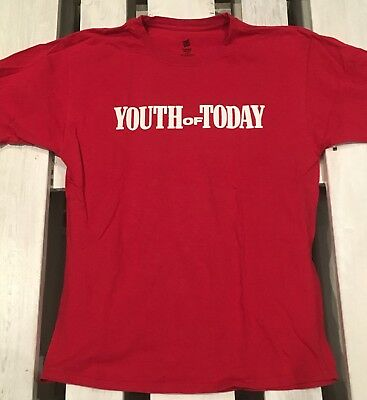 Youth Of Today,T-Shirt,L,Shelter,NYHC,Side by Side,Bold,Judge,Revelation,hc,sxe
