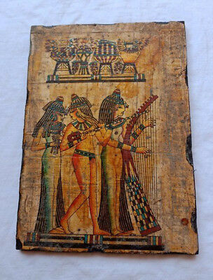Egyptian Antiques Relief scene for girls dance Wall Of Art Ancient Civilisation