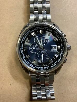 Citizen Eco-Drive AT9030-80L Men's 44mm World Time Atomic Watch- WATCH ONLY!
