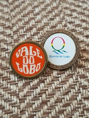 2 x Portuguese GC ball markers