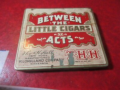 Vintage Tin Box w/ Odds & Ends