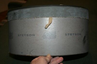 Vintage 1940-50'S  Stetson Fedora/STURGIS STYLED Hat Box