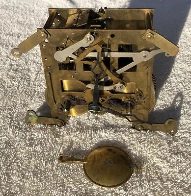 Antique Mantel Clock Mantel Movement Parts Not Working