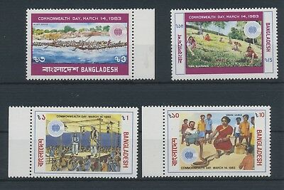 Bangladesh Commonwealth Day MiNr. 181 - 184  1983 MNH / **