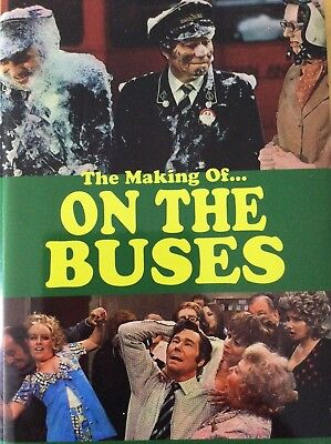 I 'Ate You Butler! - The Making of On the Buses.  New hardback Signed Book