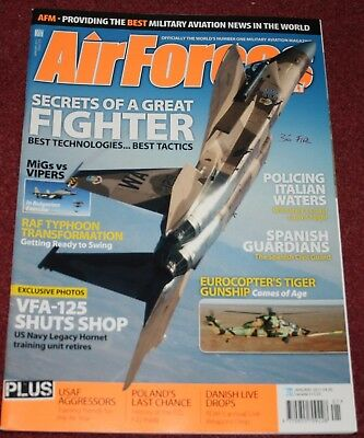 Air Forces Monthly 2011 January Typhoon,VFA-125,Harrier