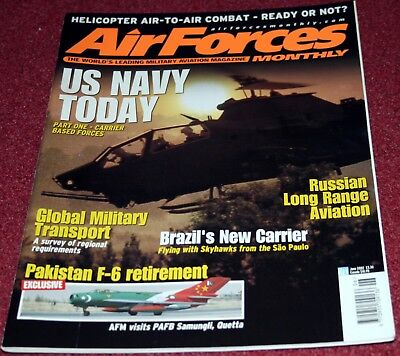 Air Forces Monthly 2002 June Pakistan,US Navy,Russia