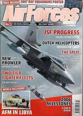 Air Forces Monthly 2007 February EA-6 Prowler,Serbia,C-130
