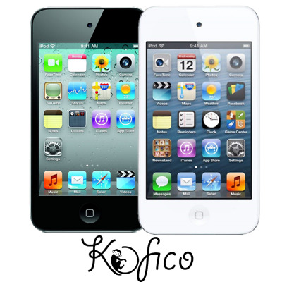 Apple iPod Touch 4th Generation WIFI Music Player 16GB - Tested - Black / White