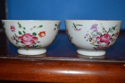antique Chinese 02 small famille rose bowl Qianlong
