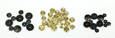 Assorted Nos Clock Hand Nuts - For German Clocks - Oh1413