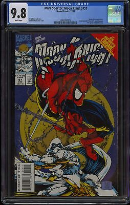 MARC SPECTOR: MOON KNIGHT #57 (1993 Marvel) CGC GRADED 9.8 NM/M WHITE PAGES