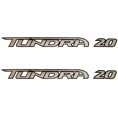 Tracker 78663 Tundra 20 Boat Decals (Pair)