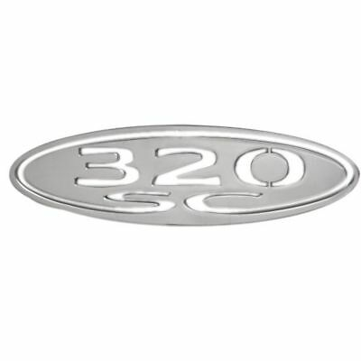 Powerquest Boat Logo Plate | SC 320 Polished 9 x 2 1/2 Inch