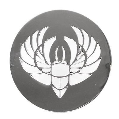 Four Winns Boat Logo Plate 031-1794 | Polished Scarab Beetle 5 Inch