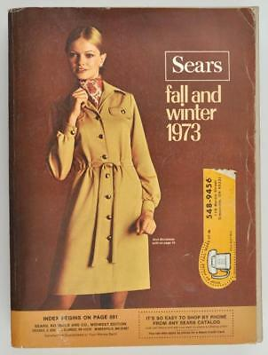 Vintage Sears Fall and Winter Catalog 1973