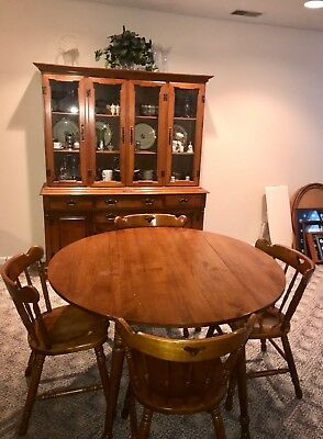 Tell City Young Republic Hard Rock Maple Dinette Set