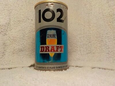 Brew 102 Draft  By Maier  Old Beer Can