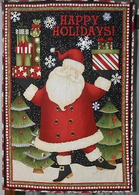 Xmas all Hanging Quilts, With Hand Sewn Embellishments