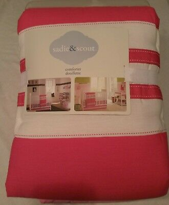 Sadie & Scout Chelsea Infant Comforter - NEW